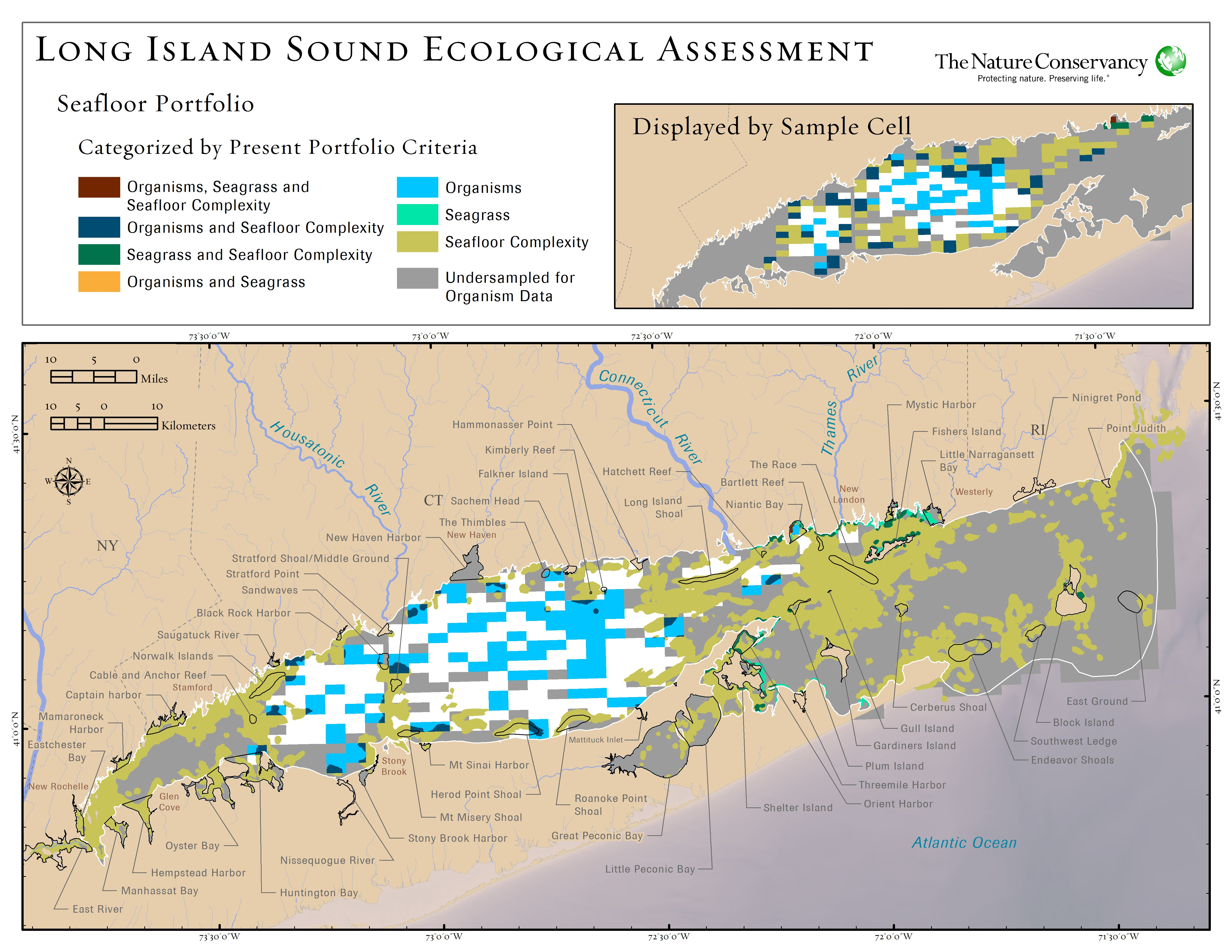 Lisea seafloor portfolio for Long island sound fishing spots