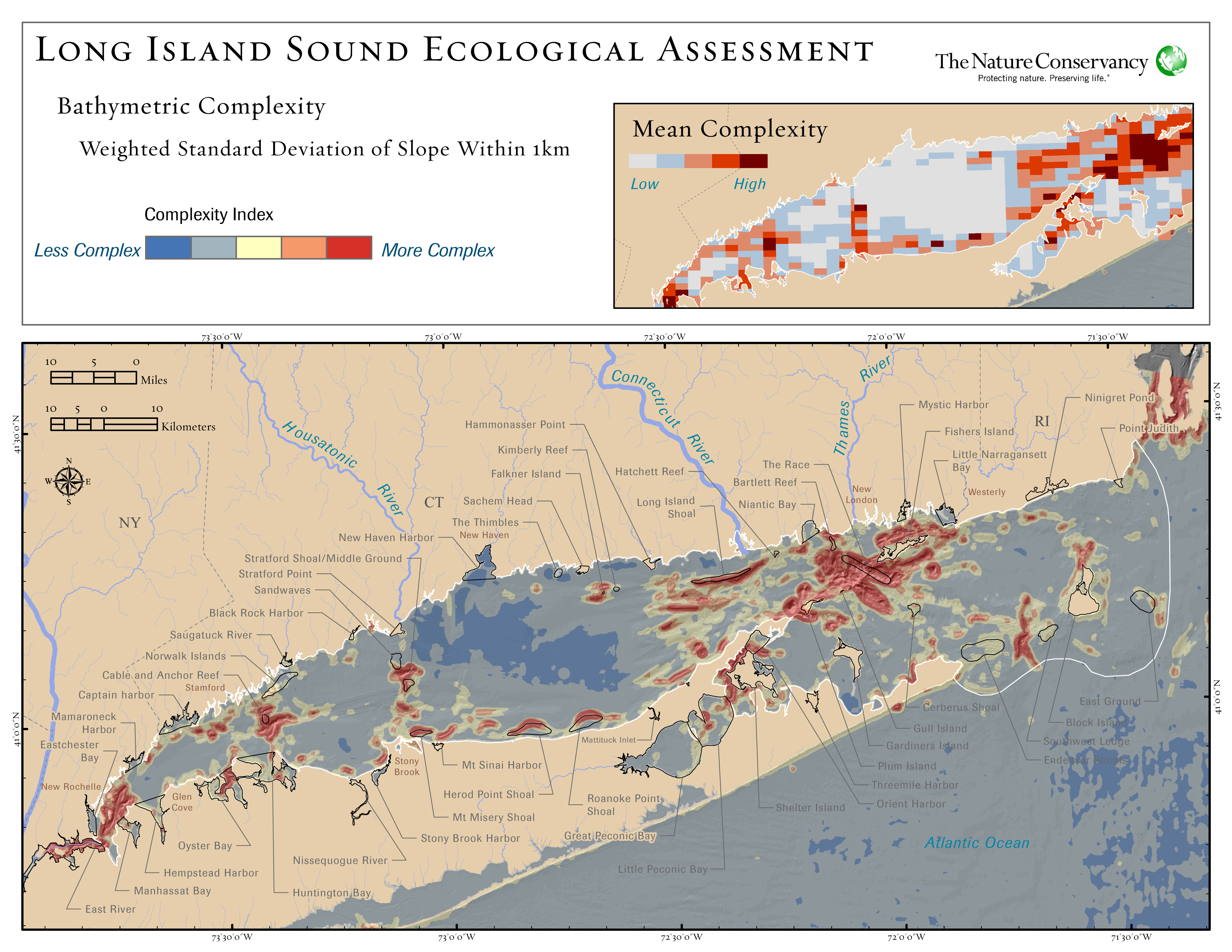 Long island sound ecological assessment for Long island sound fishing report